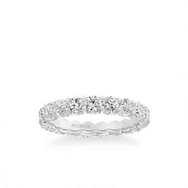 ArtCarved Eternity Anniversary Band 2 1/2 ctw in 18k White Gold